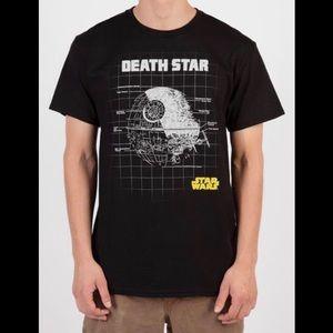 Star Wars Death Star Black Graphic Tee